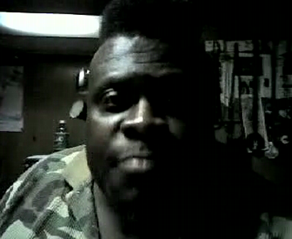 """M.C. WAR FLATTOP AT THE ""LYRICAL FUSION SOUTHPAW"" VIDEO TAPEING THA SHOW Pt.1"