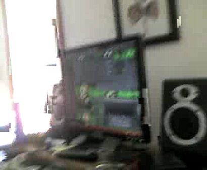 """THE SETTING UP VIDEO'S OF """"M.C. WAR FLATTOP"""" & """"FUNKTATION"""" IN THA STUDIO Pt.1"""