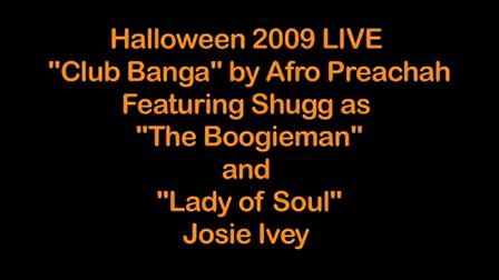 "Halloween 2009 LIVE ""Club Banga"""