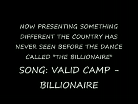 THE BILLIONAIRE DANCE