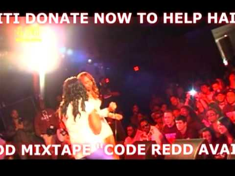 "Candi Redd ""Houston 4 Haiti"" Performance"