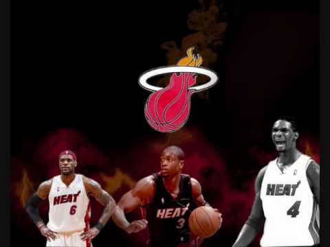 The Dynamic Trio Dwyane Wade, Chris Bosh and LeBron James Music Video