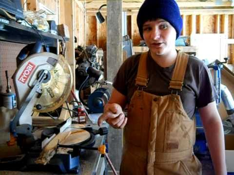 How to use a Compound Miter-Saw