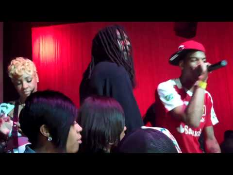 Yung Chris Signing Party with Future, Slim Dunkin and Natali