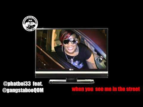 gangsta boo @gangstabooQOM shoutout in ATL @phatboi33 on promoterTV