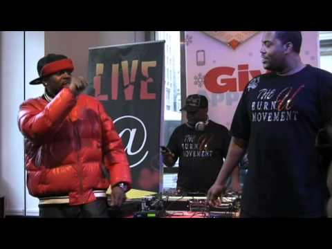 Boogie Black performing Blame it on the Henny