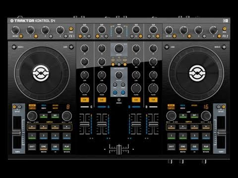 NATIVE INSTRUMENTS TRAKTOR KONTROL S4 UNBOXING