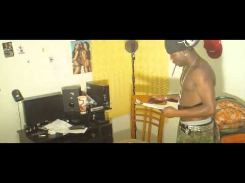 "Young-D ""Living In The Studio"" music video"
