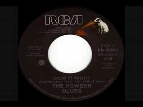 The Powder Blues - Doin' It Right