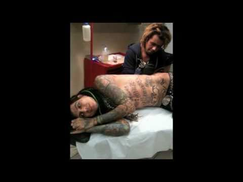 """Helly Mae Hellfire & London Le Grand """"Filthy Whore Tattoo"""""""