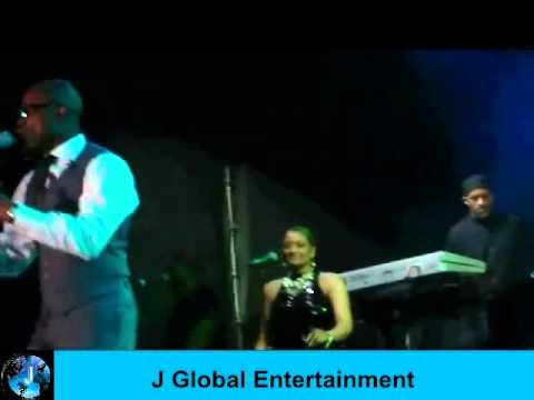 "Kem Performs ""You're On My Mind"" & Brotha Man"" Live.wmv"