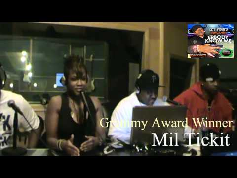 Grammy award winning Producer Mil Ticket interview with the Jay Davis Show.wmv