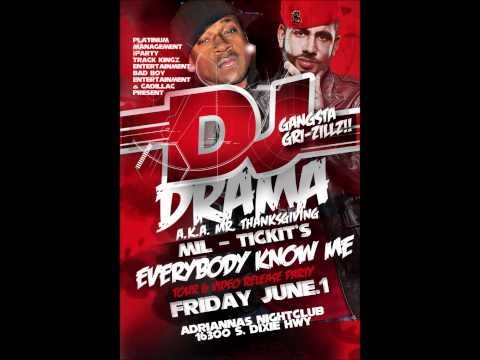 DJ Drama LIVE at Adriannas w/ Mil Tickit, G.M.G.'s Showtime + MORE!!