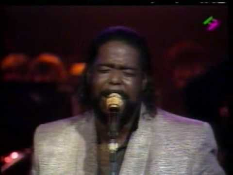 Barry White in Paris 31/12/1987 -w/Emmett North Jr on Guitar Part 3 - See The Trouble With Me