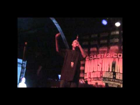 Yung Poppa Live@ Coast 2 Coast.Music Industry Mixer L.A Edition