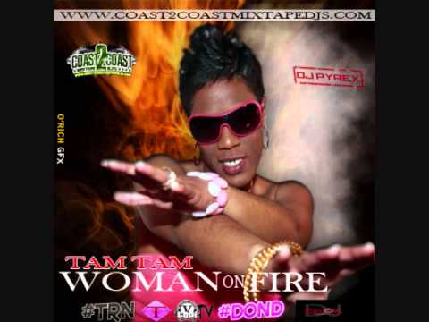 @tamtam256 @djpyrex #womanonfire