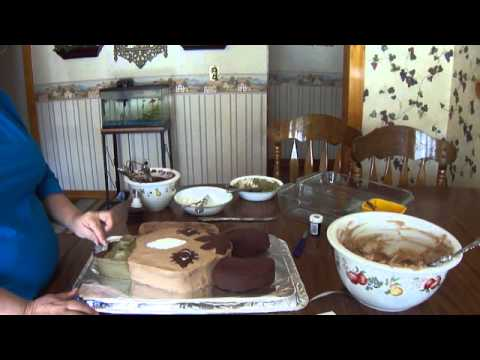 Mom Makes A Horse Birthday Cake
