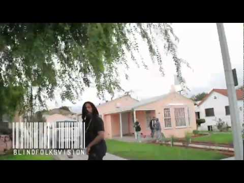 Waka Flocka Drives Down To East Compton To Meet With Elm Street Piru Bloods!