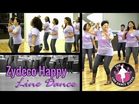 Zydeco Happy Line Dance (Happy Dance, Zydeco Style)
