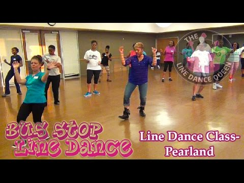 Bus Stop Line Dance (DJ Jubilee)-w/The Line Dance Queen's Class