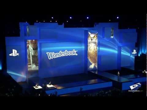 Presentazione all'E3 2012 di THE BOOK OF SPELLS un Wonderbook - :