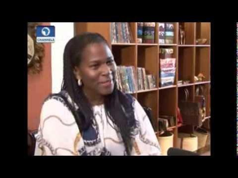 Mrs Kalango talks about Port Harcourt World Book Capital 2014