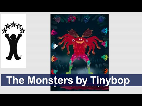 Le App per ragazzi più belle del 2015:The Monsters by Tinybop