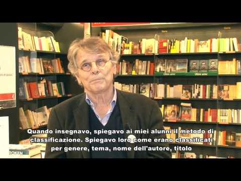 Bibliopride 2015, il messaggio di Daniel Pennac, ''I bibliotecari sono i contrabbandieri del libro''