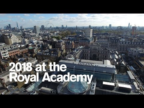 Introducing 2018 at the Royal Academy of Arts
