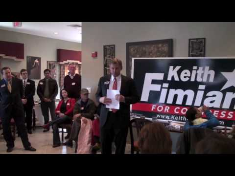 Keith Fimian Prince William County Kickoff event