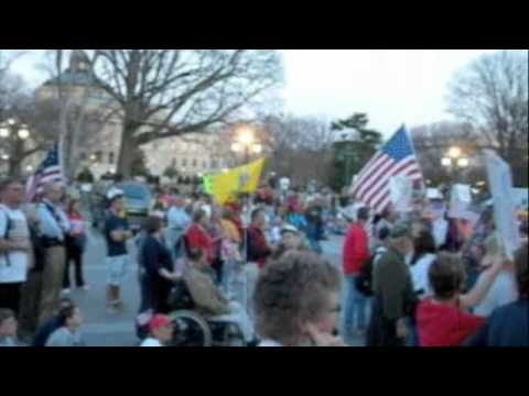 """Code Red Rally """"Kill the Health Care Bill"""" Evening events TH2DC"""