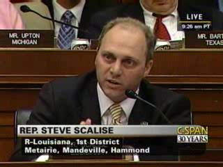 "Scalise questions frm VP Al Gore about a ""cap and trade"" energy tax"