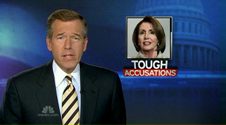 msnbc - Pelosi - There is a Problem - CIA used EITs Aug. 2002