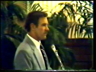 Vintage 1983 Ron Paul Gold standard conference