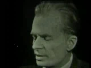 Aldous Huxley interviewed by Mike Wallace (1 of 3)