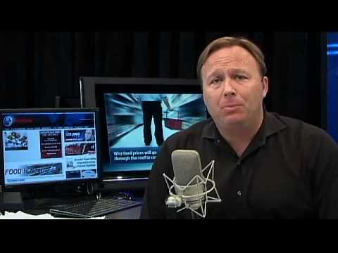 Alex Jones Tv:Military Checkpoint Forced Vaccination RANT!!!