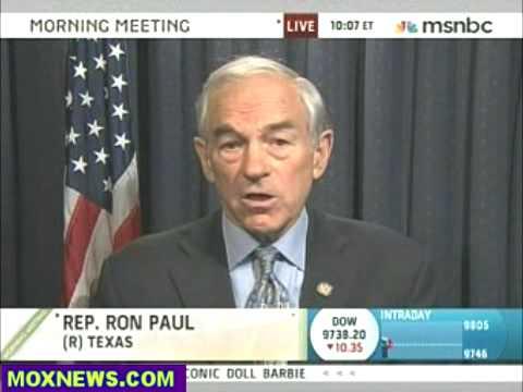 Ron Paul on MSNBC Morning Meeting 9/24