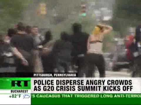 Russia TOday Covers the G20 summit in Pittsburgh