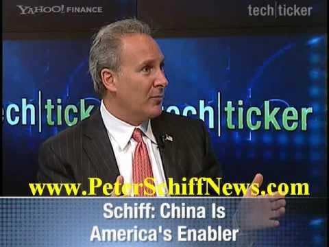 Peter Schiff on Yahoo Finance 9/24