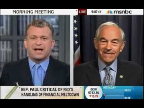 Ron Paul End the Fed MSNBC 9 24 09