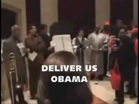 church of ACORN People PRAY to Obama..Deliver us Obama !!
