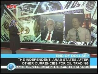 Max Keiser Dollar Collapse on Press TV 10-06-2009