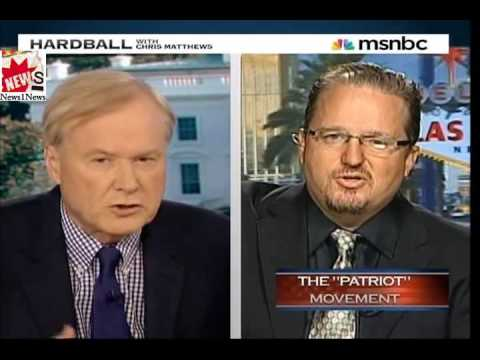 """You Have to see this !! Chris Matthews Takes On Right Wing """"Oath Keepers"""" Founder"""