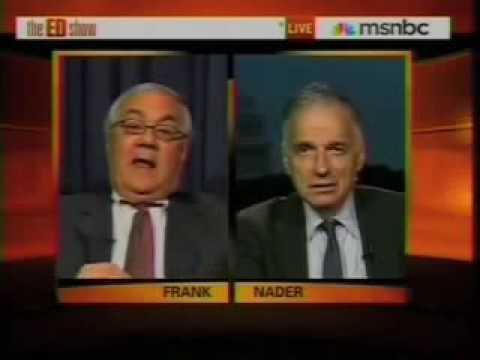 """Barney Frank: """"We Are Trying On Every Front To Increase The Role Of Government""""."""