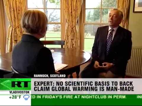 Lord Monckton On Russia Today: Global Warming big scientific fad