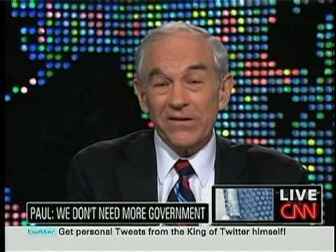 Barney Frank Agrees with Dr. Ron Paul??