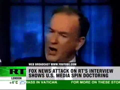 Out-FOXed: Bill O'Reilly bites the RT bullet