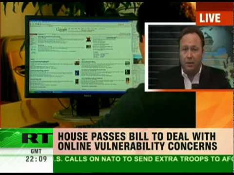 Alex Jones Talks with Russia Today About U.S. Plan to Build a Cyber Security Army