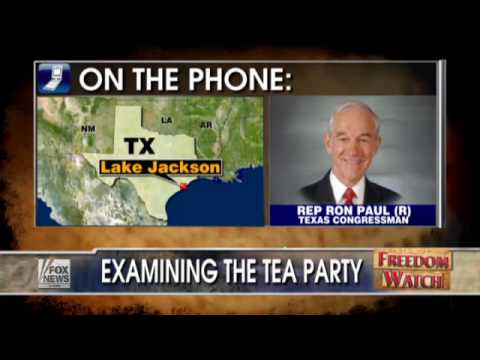 Ron Paul with the Judge Discussing the Tea Party Movement