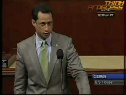 Weiner Clarifies His Calling The GOP An Insurance Subsidiary